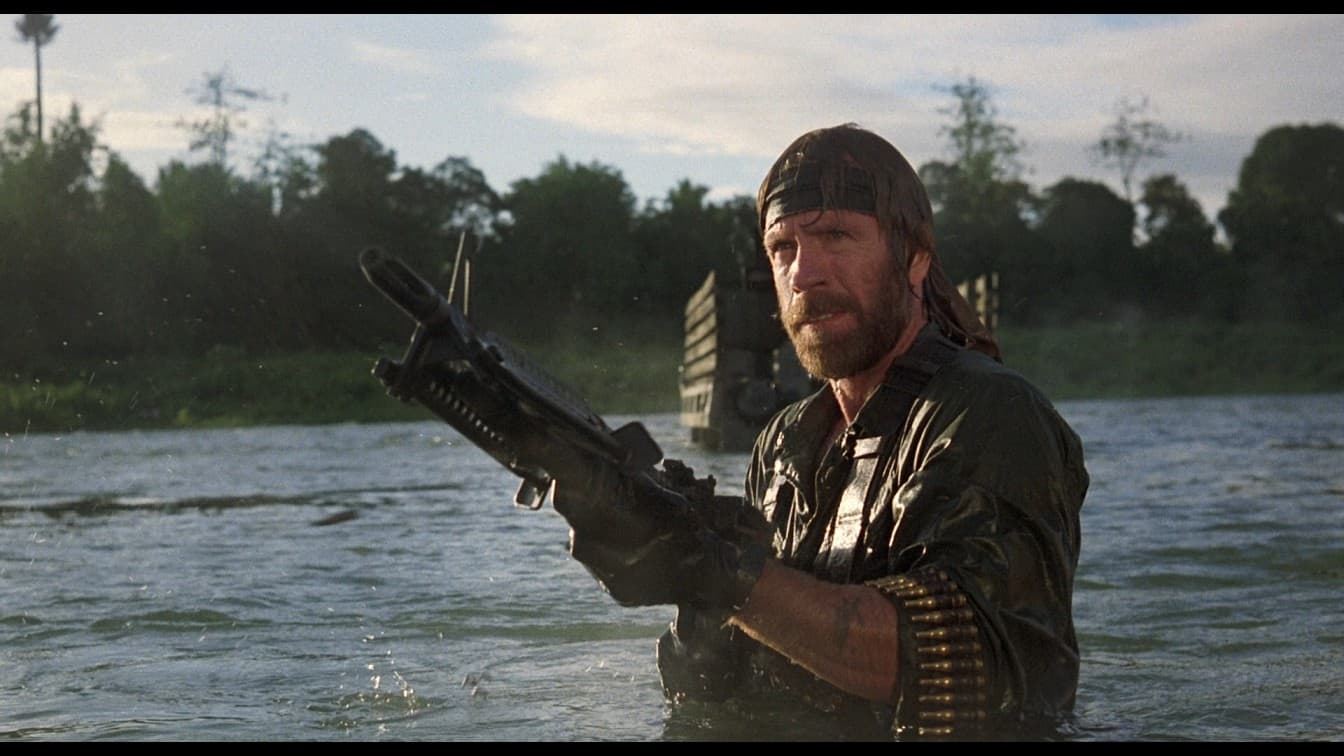 Chuck Norris in Missing in Action. Image courtesy of www.doblu.com/