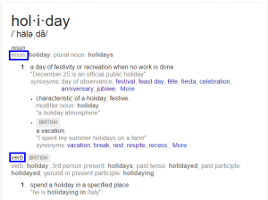 definition holiday   Google Search